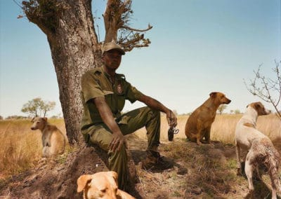 CLAWS herders and their dogs